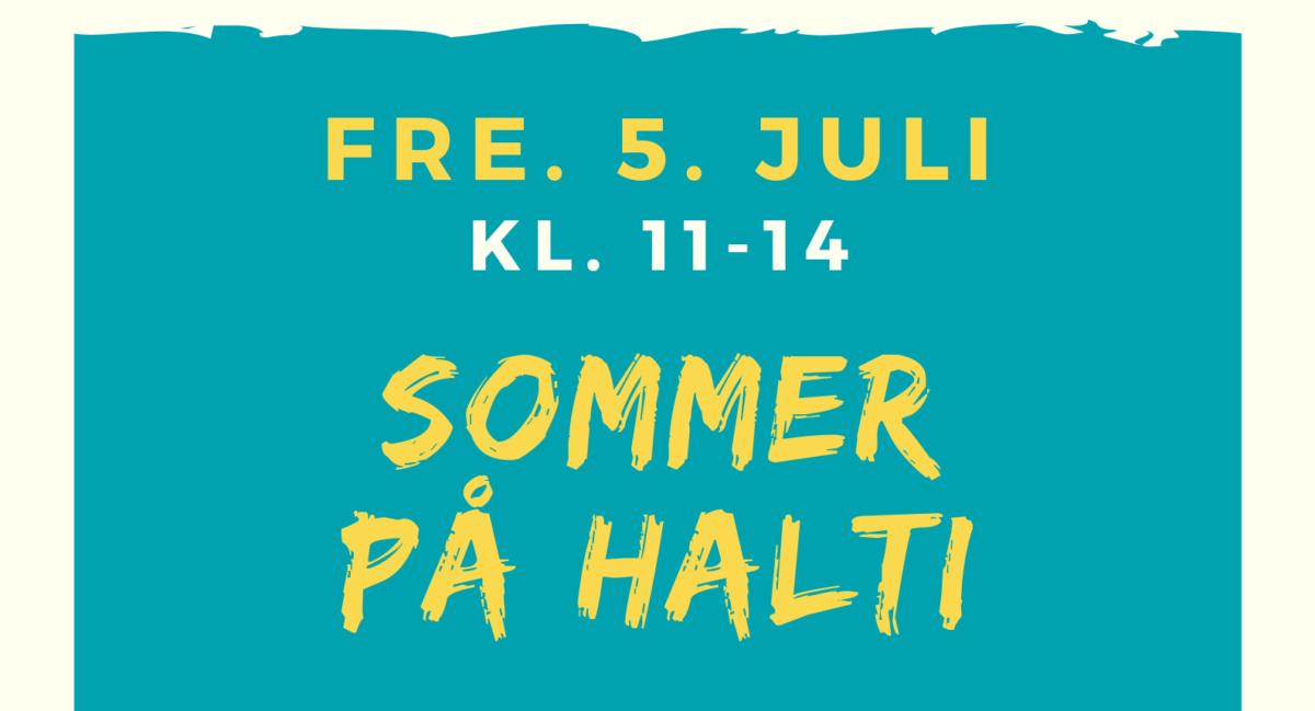 Sommer på Halti