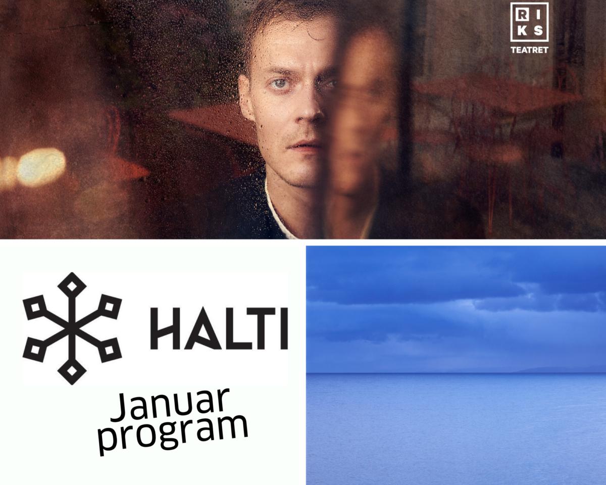 Januar på Halti