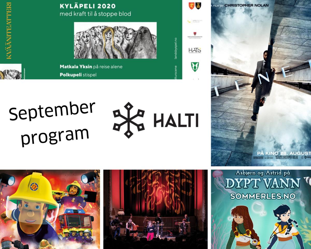 September på Halti